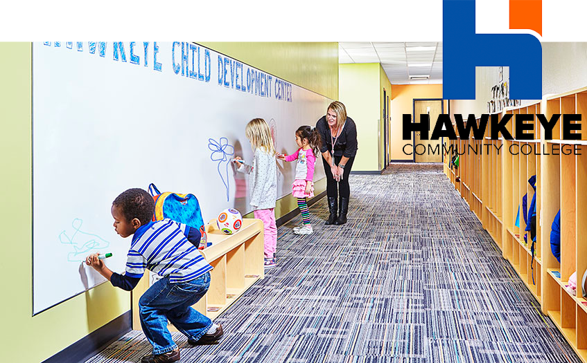 child care worker at hawkeye community college
